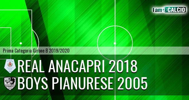 Real Anacapri 2018 - Boys Pianurese 2005