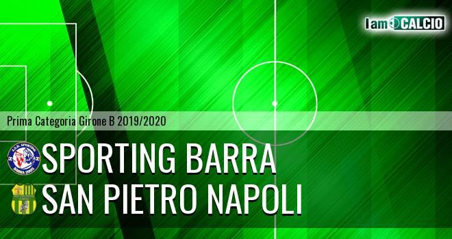 Sporting Barra - San Pietro Napoli