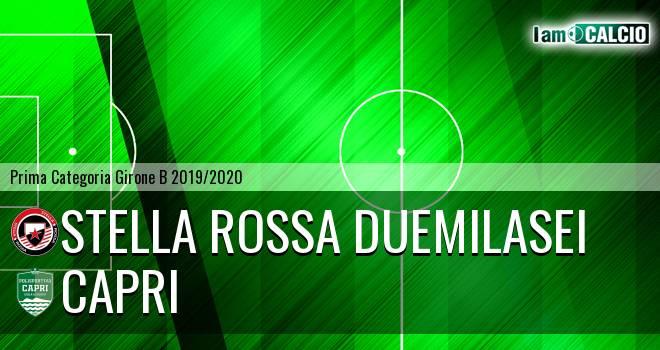 Stella Rossa Duemilasei - Capri