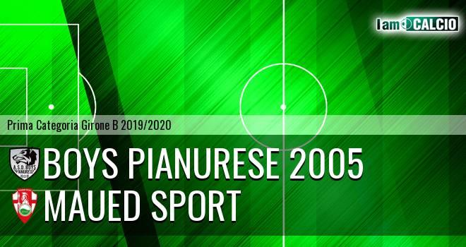 Boys Pianurese 2005 - Maued Sport