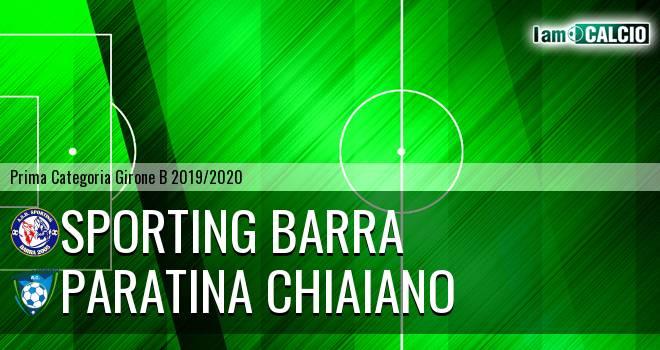 Sporting Barra - Paratina Chiaiano