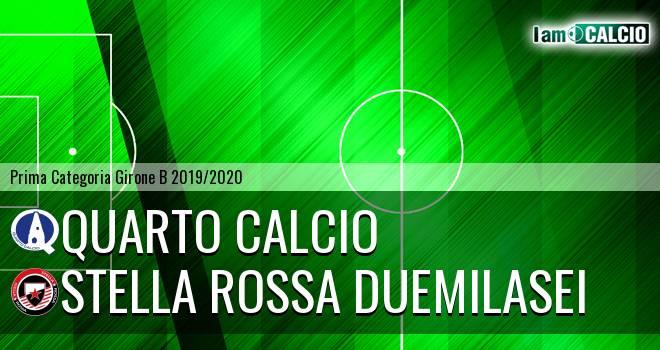 Quarto Calcio - Stella Rossa Duemilasei