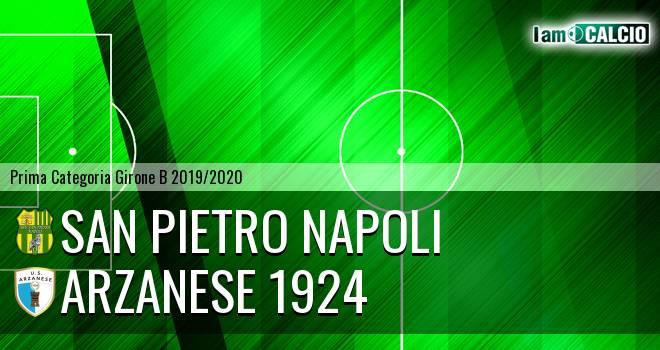 San Pietro Napoli - Arzanese 1924