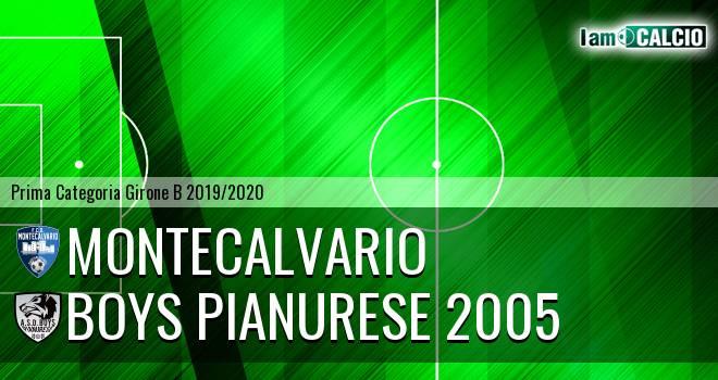 Montecalvario - Boys Pianurese 2005