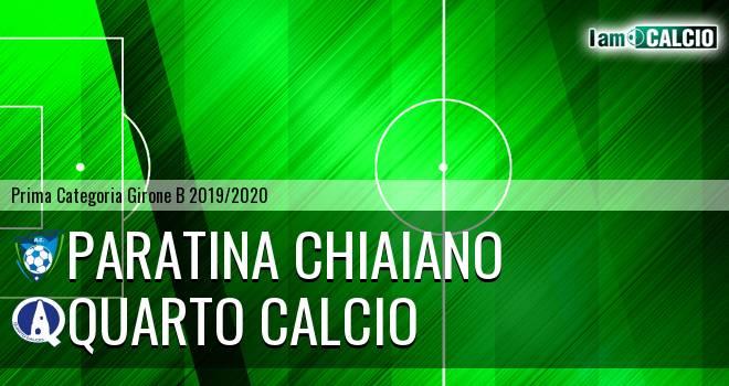 Paratina Chiaiano - Quarto Calcio
