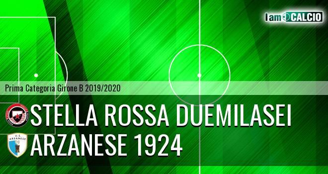 Stella Rossa Duemilasei - Arzanese 1924