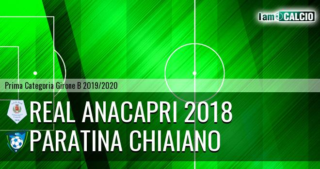 Real Anacapri 2018 - Paratina Chiaiano