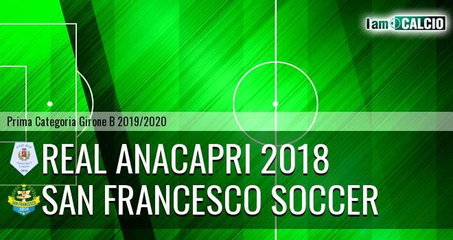 Real Anacapri 2018 - San Francesco Soccer