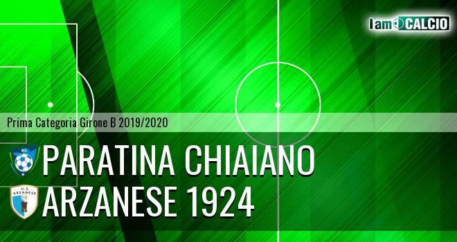Paratina Chiaiano - Arzanese 1924