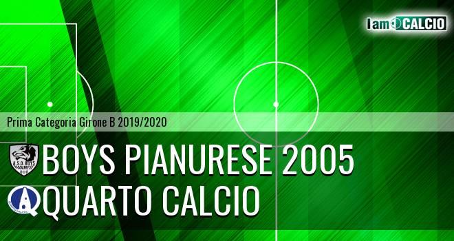 Boys Pianurese 2005 - Quarto Calcio