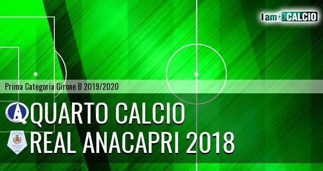 Quarto Calcio - Real Anacapri 2018