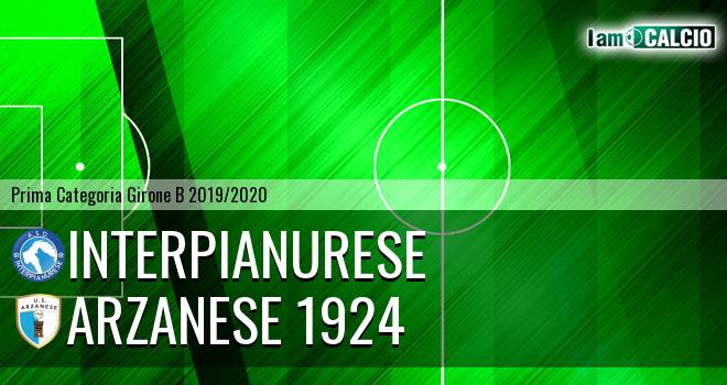 Interpianurese - Arzanese 1924