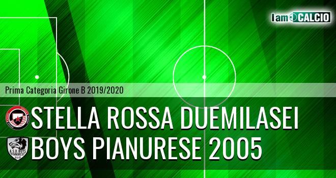 Stella Rossa Duemilasei - Boys Pianurese 2005