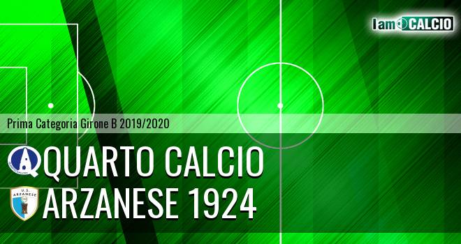 Quarto Calcio - Arzanese 1924