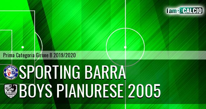 Sporting Barra - Boys Pianurese 2005