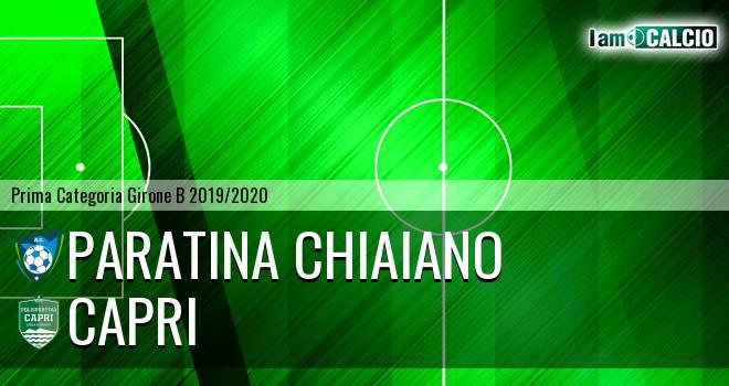 Paratina Chiaiano - Capri
