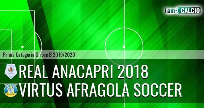 Real Anacapri 2018 - Virtus Afragola Soccer