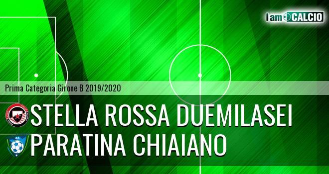 Stella Rossa Duemilasei - Paratina Chiaiano