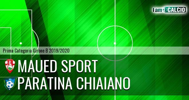 Maued Sport - Paratina Chiaiano