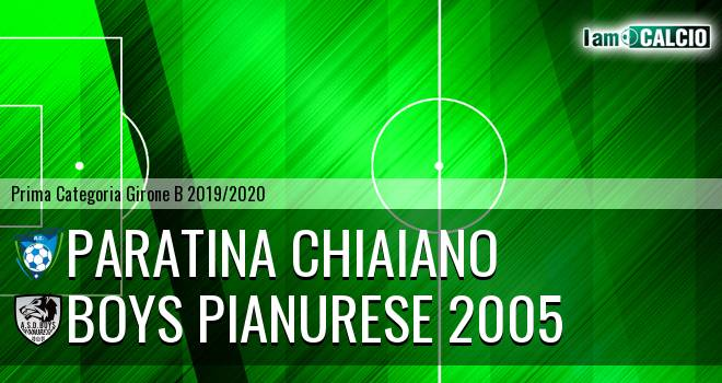 Paratina Chiaiano - Boys Pianurese 2005