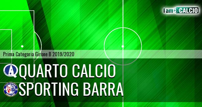 Quarto Calcio - Sporting Barra