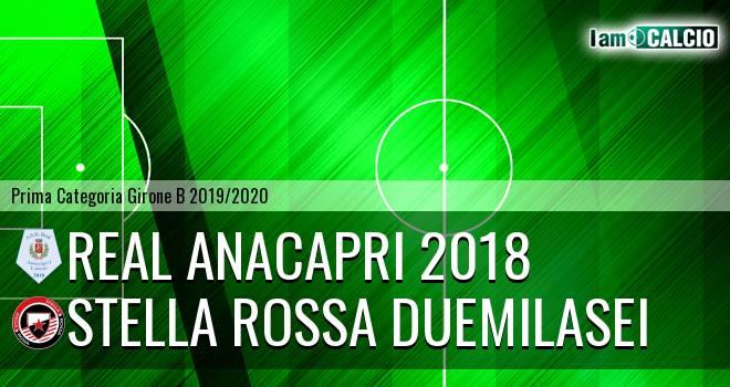 Real Anacapri 2018 - Stella Rossa Duemilasei