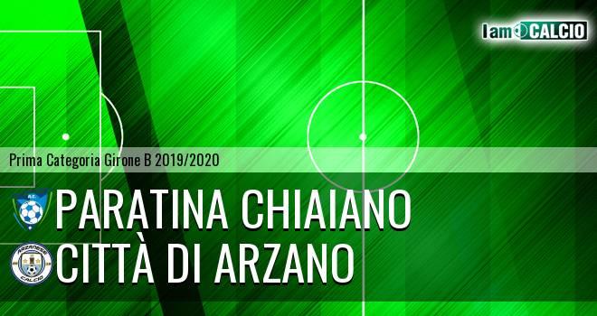Paratina Chiaiano - Città di Arzano