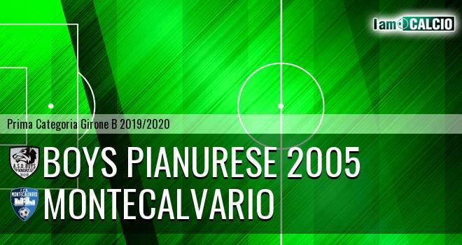 Boys Pianurese 2005 - Montecalvario
