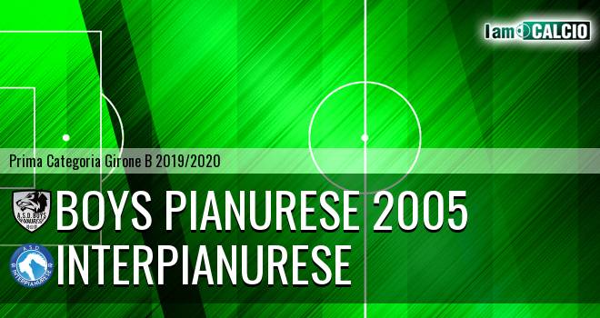 Boys Pianurese 2005 - Interpianurese