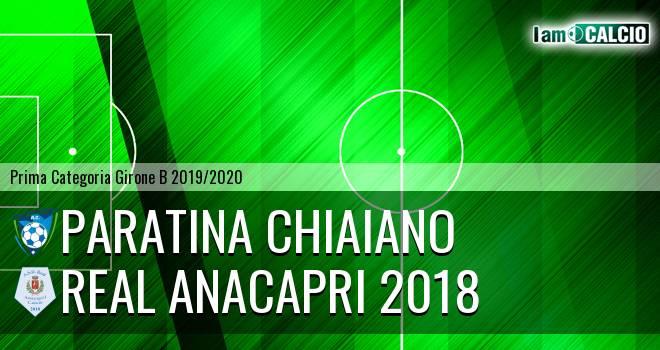 Paratina Chiaiano - Real Anacapri 2018
