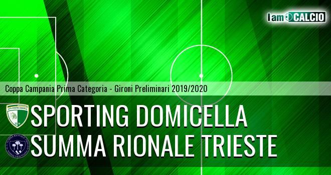 Sporting Domicella - Summa Rionale Trieste