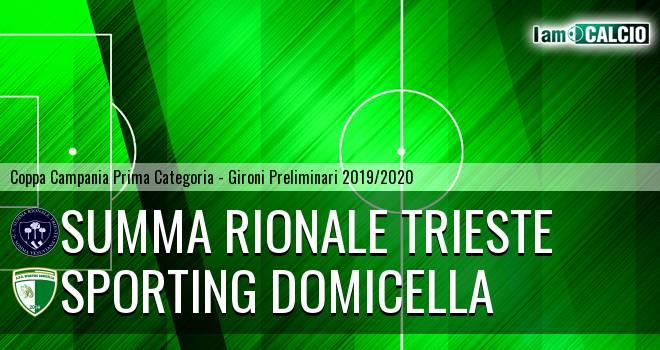 Summa Rionale Trieste - Sporting Domicella
