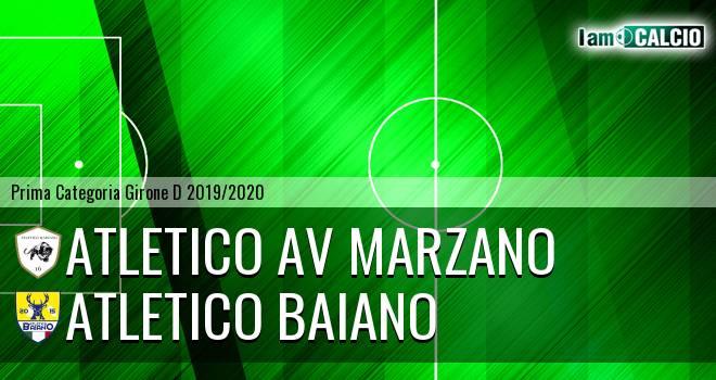Atletico AV Marzano - Atletico Baiano