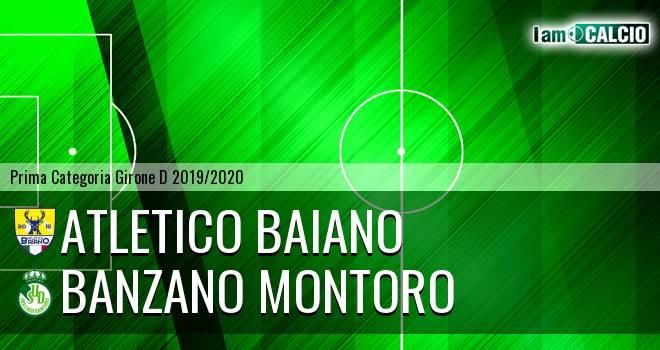 Atletico Baiano - Banzano Montoro