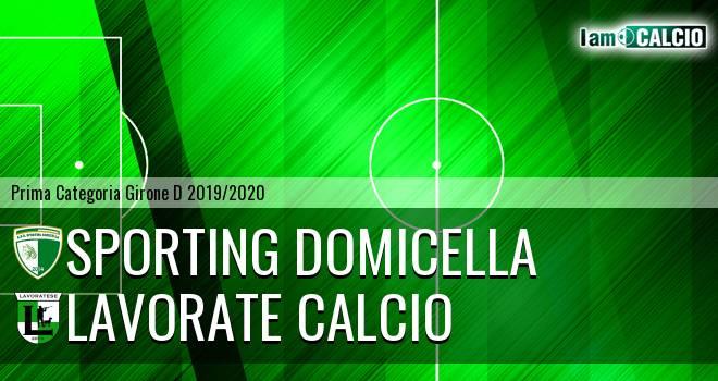 Sporting Domicella - Lavorate Calcio