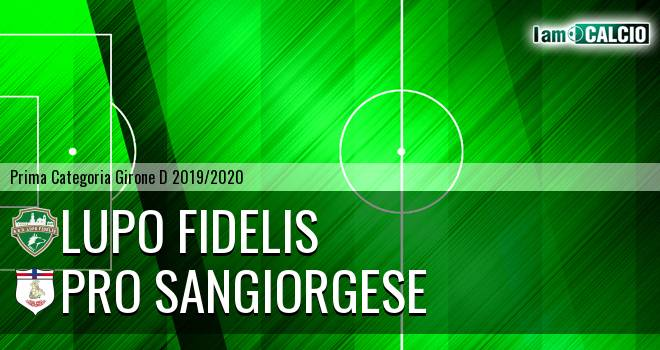 Lupo Fidelis - Pro Sangiorgese