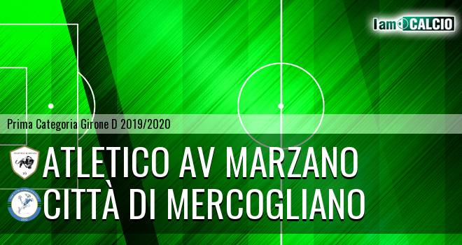 Atletico AV Marzano - Città di Mercogliano