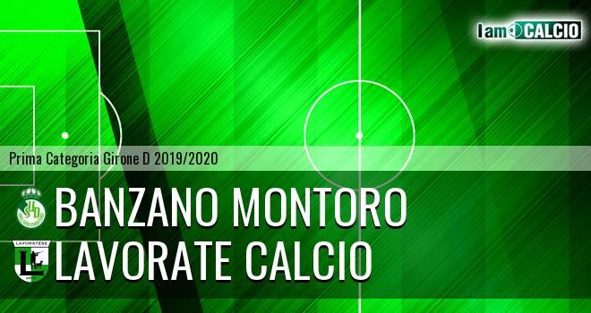Banzano Montoro - Lavorate Calcio