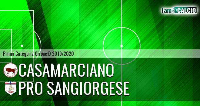 Casamarciano - Pro Sangiorgese