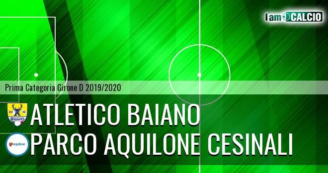 Atletico Baiano - Parco Aquilone Cesinali