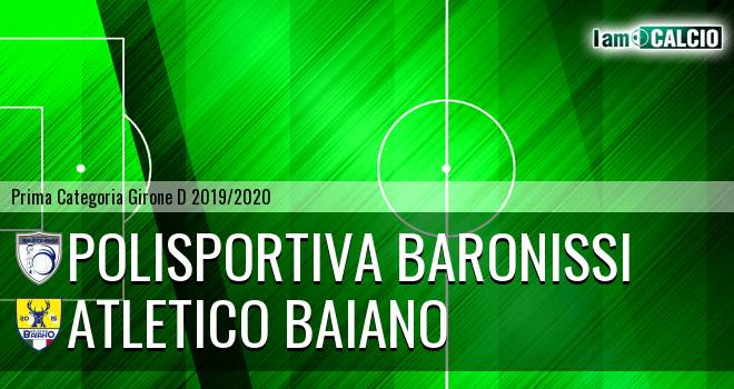 Polisportiva Baronissi - Atletico Baiano