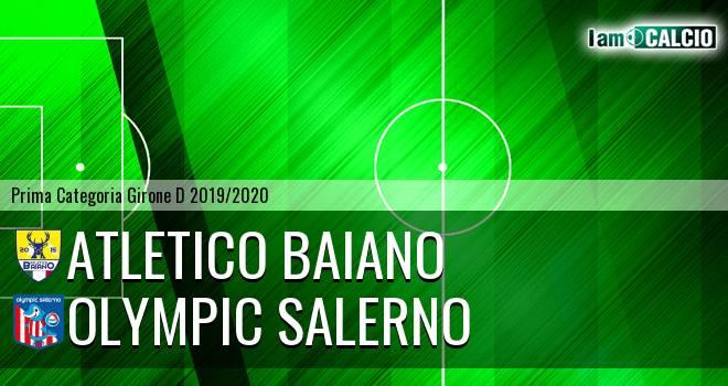 Atletico Baiano - Olympic Salerno