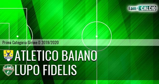 Atletico Baiano - Lupo Fidelis