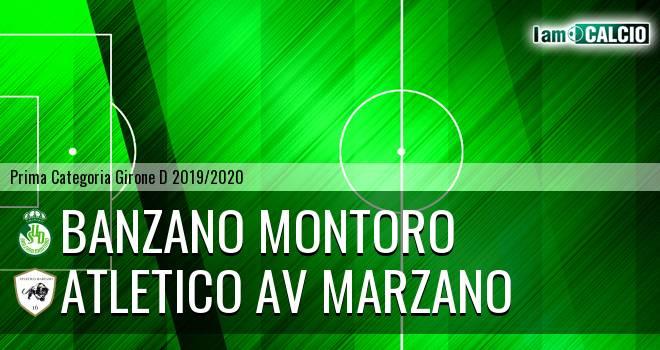 Banzano Montoro - Atletico AV Marzano