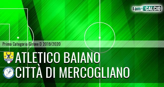 Atletico Baiano - Mercogliano 1999