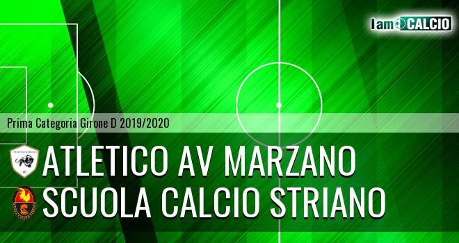 Atletico AV Marzano - Scuola Calcio Striano