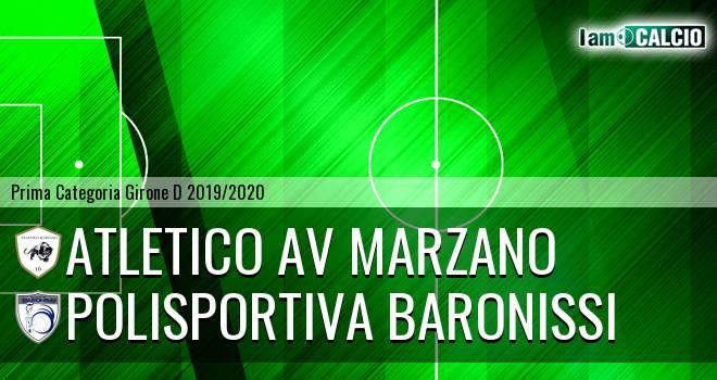 Atletico AV Marzano - Polisportiva Baronissi
