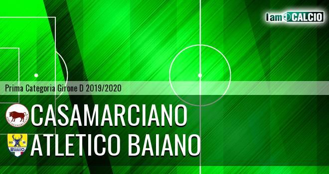 Casamarciano - Atletico Baiano