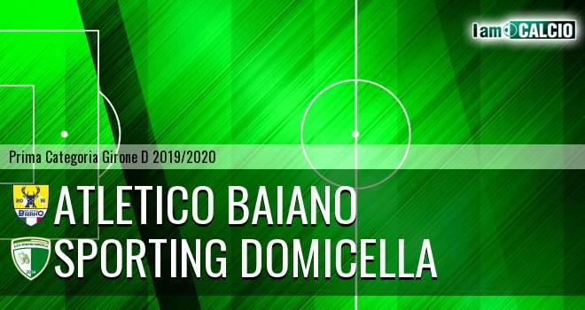 Atletico Baiano - Sporting Domicella