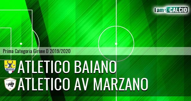 Atletico Baiano - Atletico AV Marzano